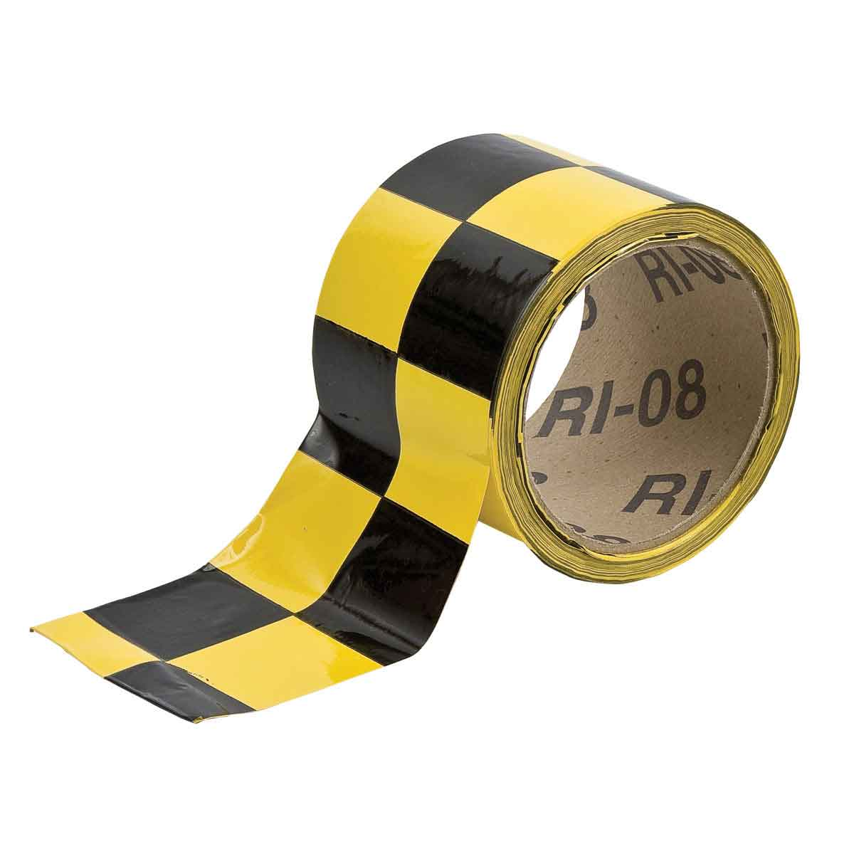 BRADY 76319 WARNING STRIPE ANDCHECK TAPE