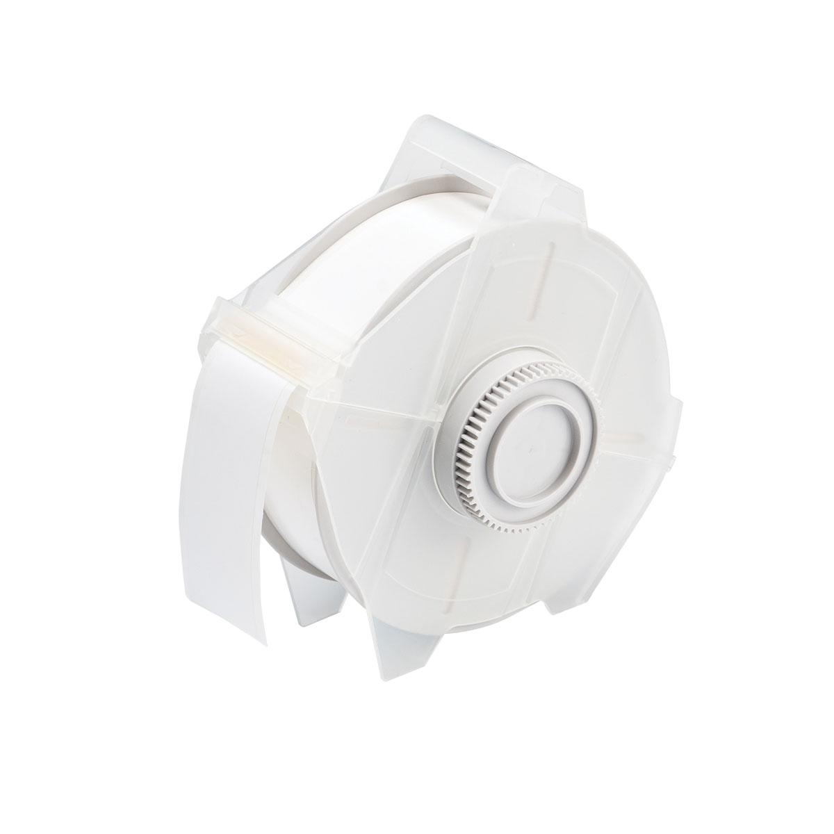 """Brady 76693 White GlobalMark Cold Temperature Label Tape, 1.125"""" x 100'"""