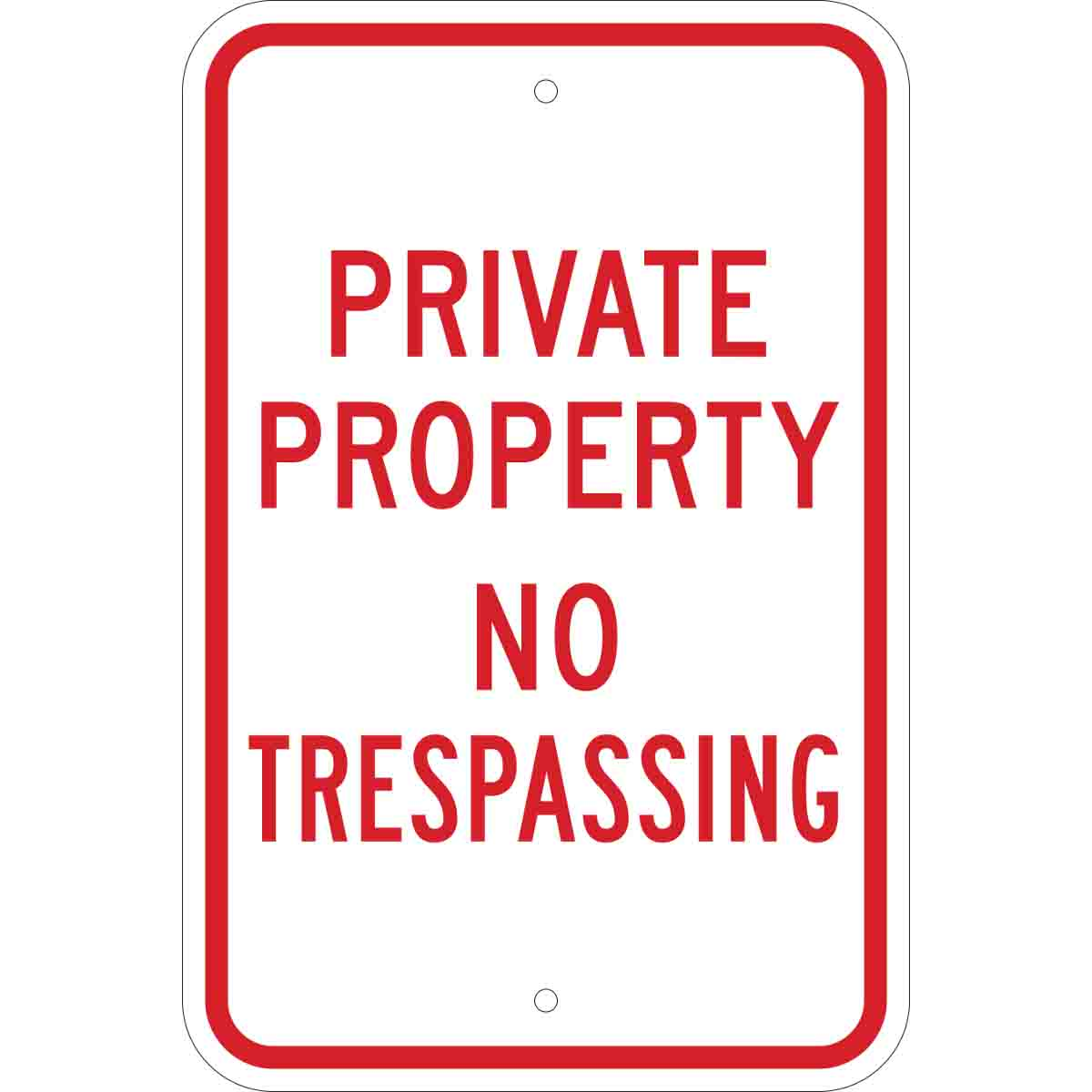graphic regarding Printable No Trespassing Sign known as Individual Household No Tresping Indicator