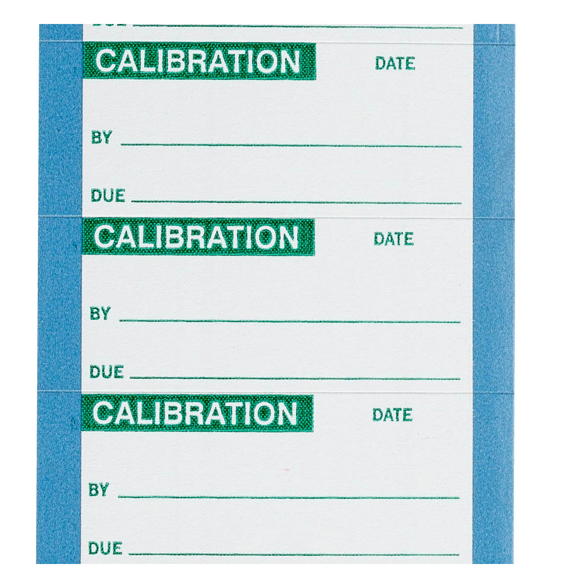 brady part 82592 calibrated write on inspection label. Black Bedroom Furniture Sets. Home Design Ideas