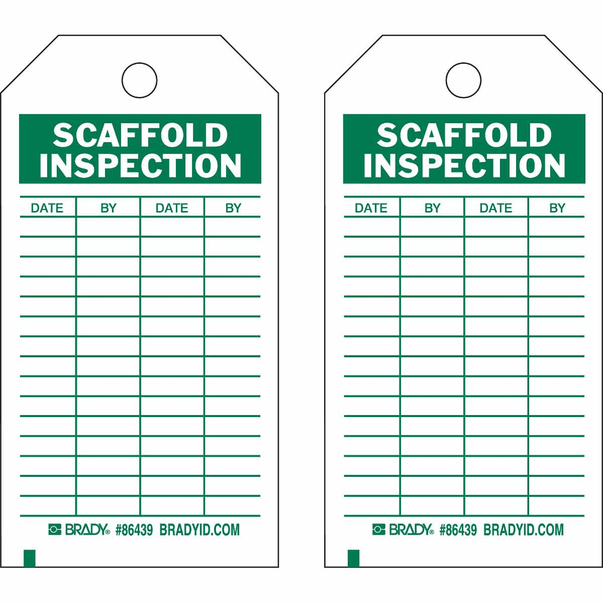 scaffold inspection checklist free template - scaffold inspection tags pictures to pin on pinterest
