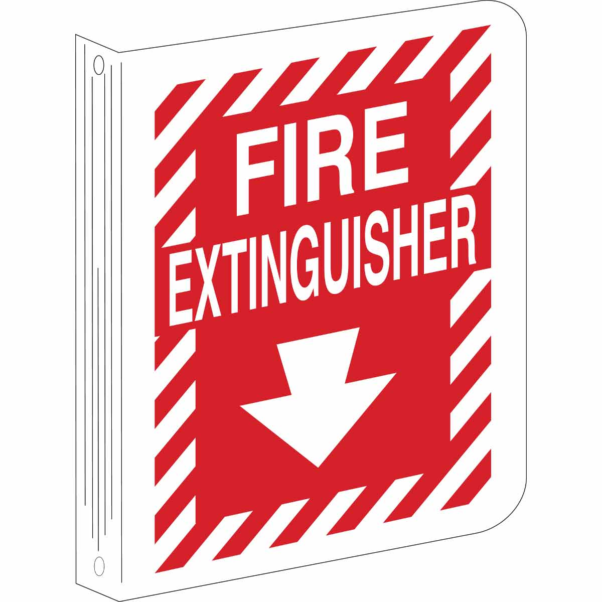BRADY 70998 FIRE EXT(L-STYLE)