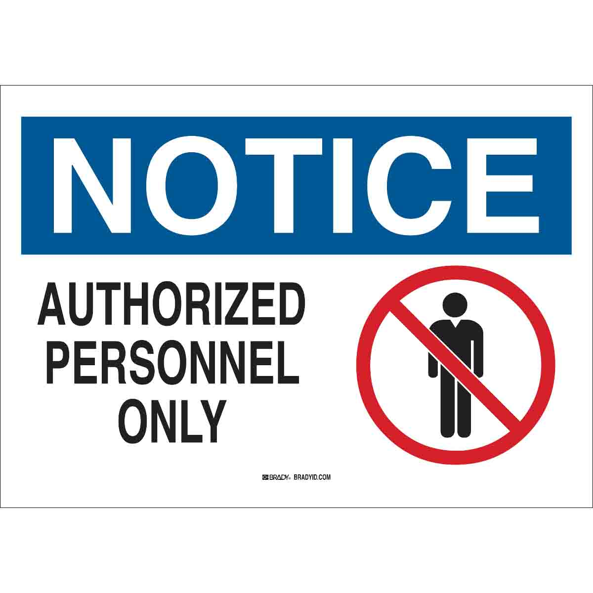 photograph about Authorized Personnel Only Sign Printable referred to as Consideration Accepted Workforce Simply Signal