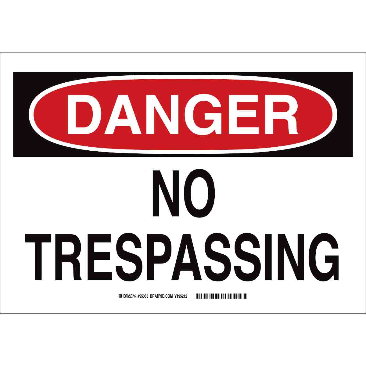 picture relating to Printable No Trespassing Sign referred to as Hazard No Tresping Indication