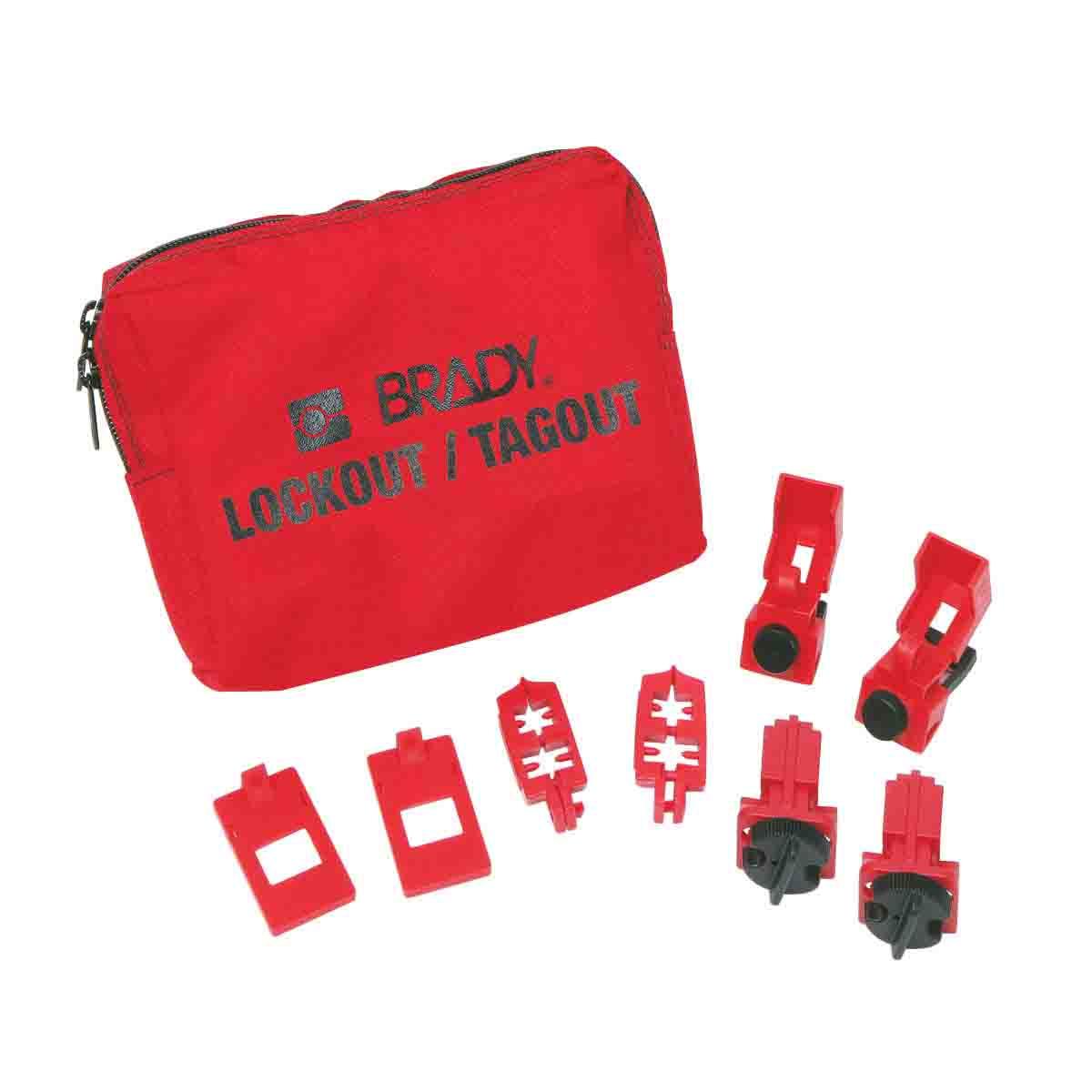 BRADY 99300 120/277V BreakerLockout Kit, No Locks