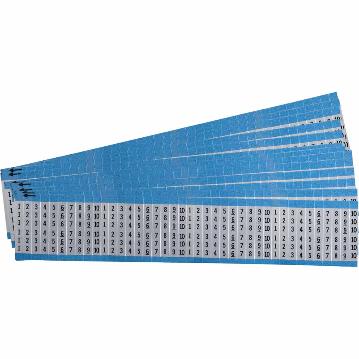 Brady Part: AF-1-10-PK | 111050 | Consecutive Numbers Repeated Wire ...
