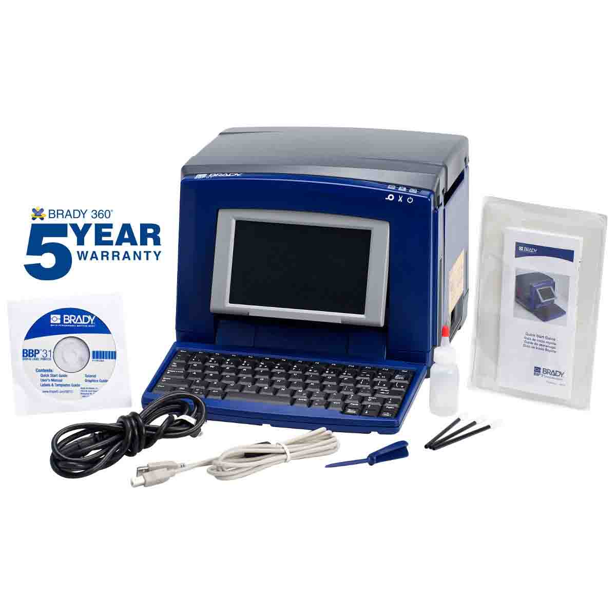 BRADY BBP31 BBP31 SIGN AND LABELMAKER( OBSOLETE, SUPERCEDED BY #S3100 )
