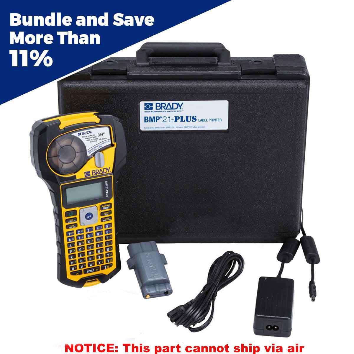 brady part bmp21 plus kit1 139537 bmp21 plus printer kit