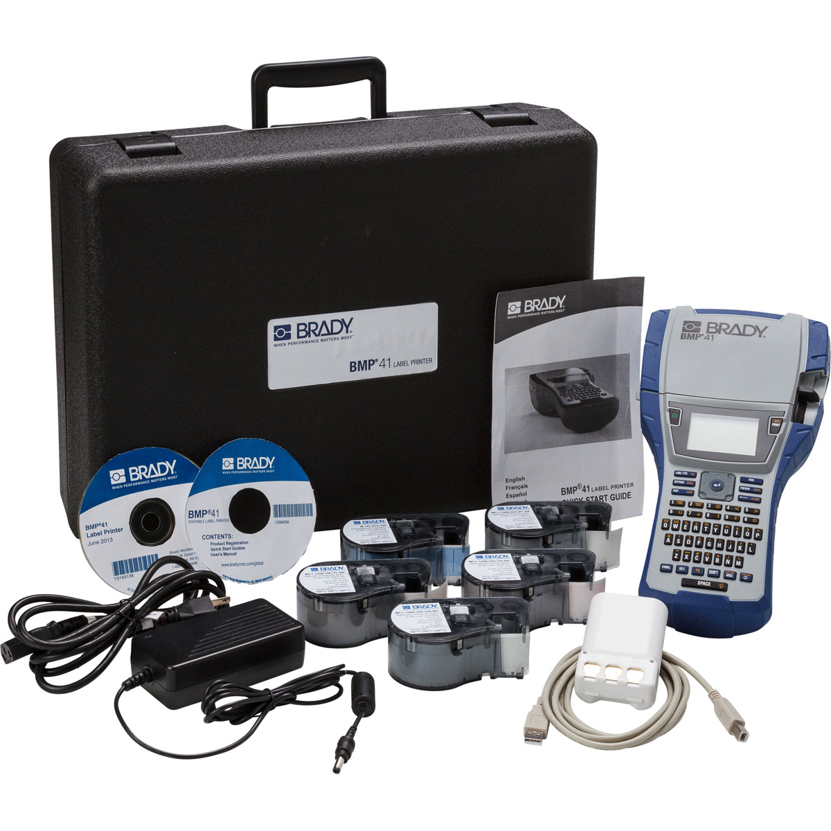 BRADY BMP41-KIT-EL Bmp41 ElectricalStarter Kit