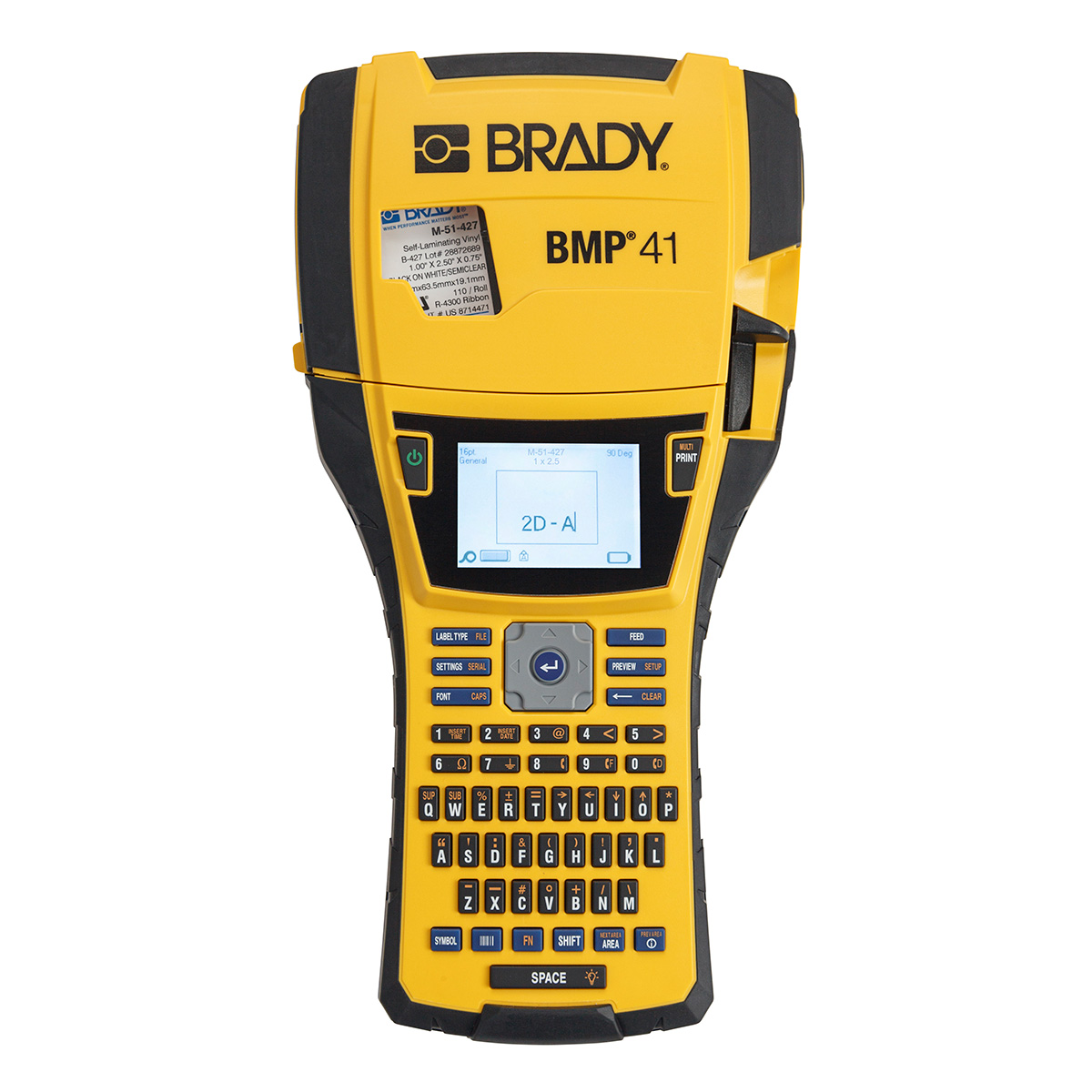 Brady Part: BMP41 | 133253 | BMP41 Label Printer | BradyID.com