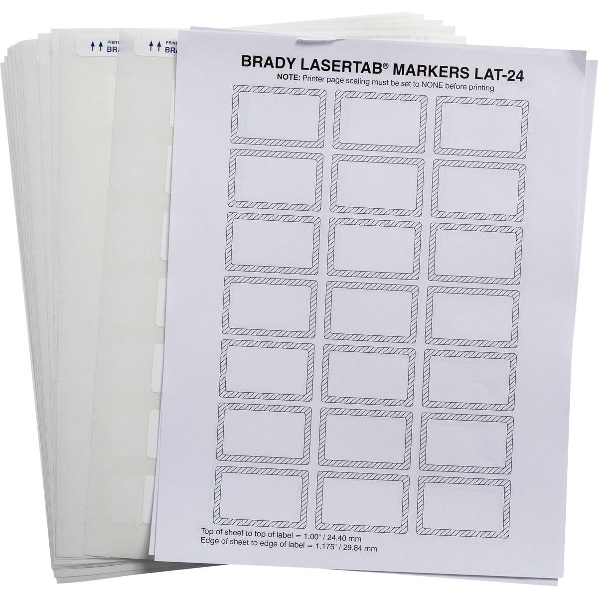 brady label templates - brady part lat 24 747 1 permashield laser printable labels