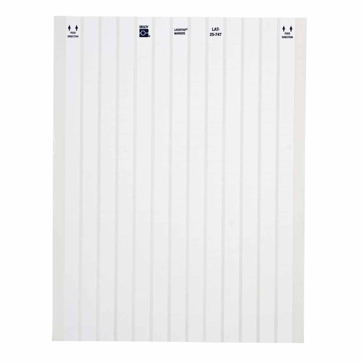 LaserTab Series Polyester Labels