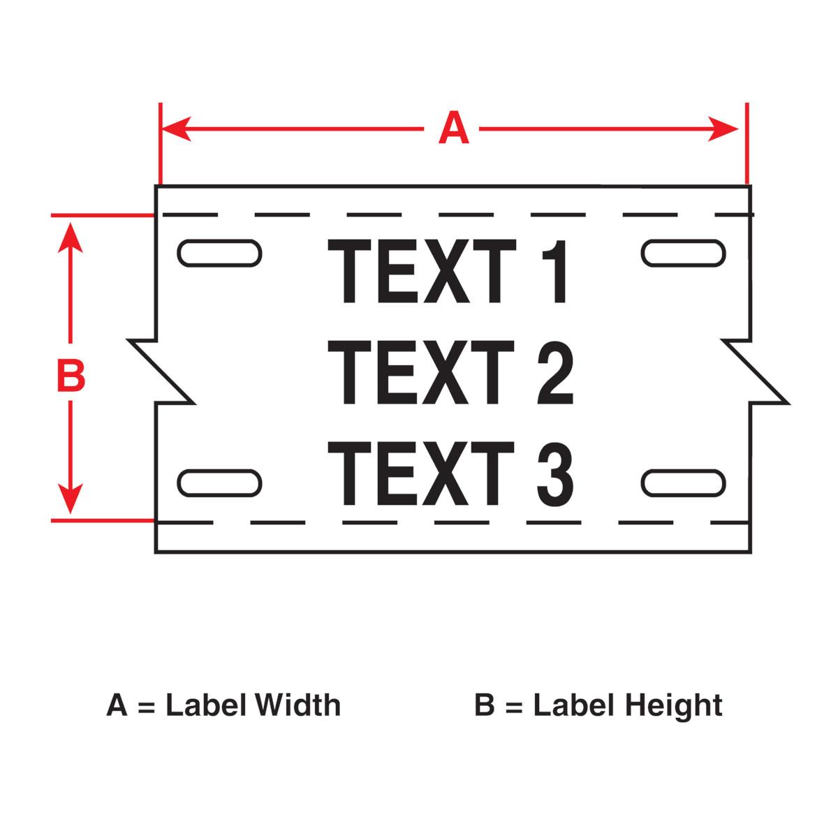 Brady part m 12 109 bmp51 bmp53 label maker cartridge for Brady label templates