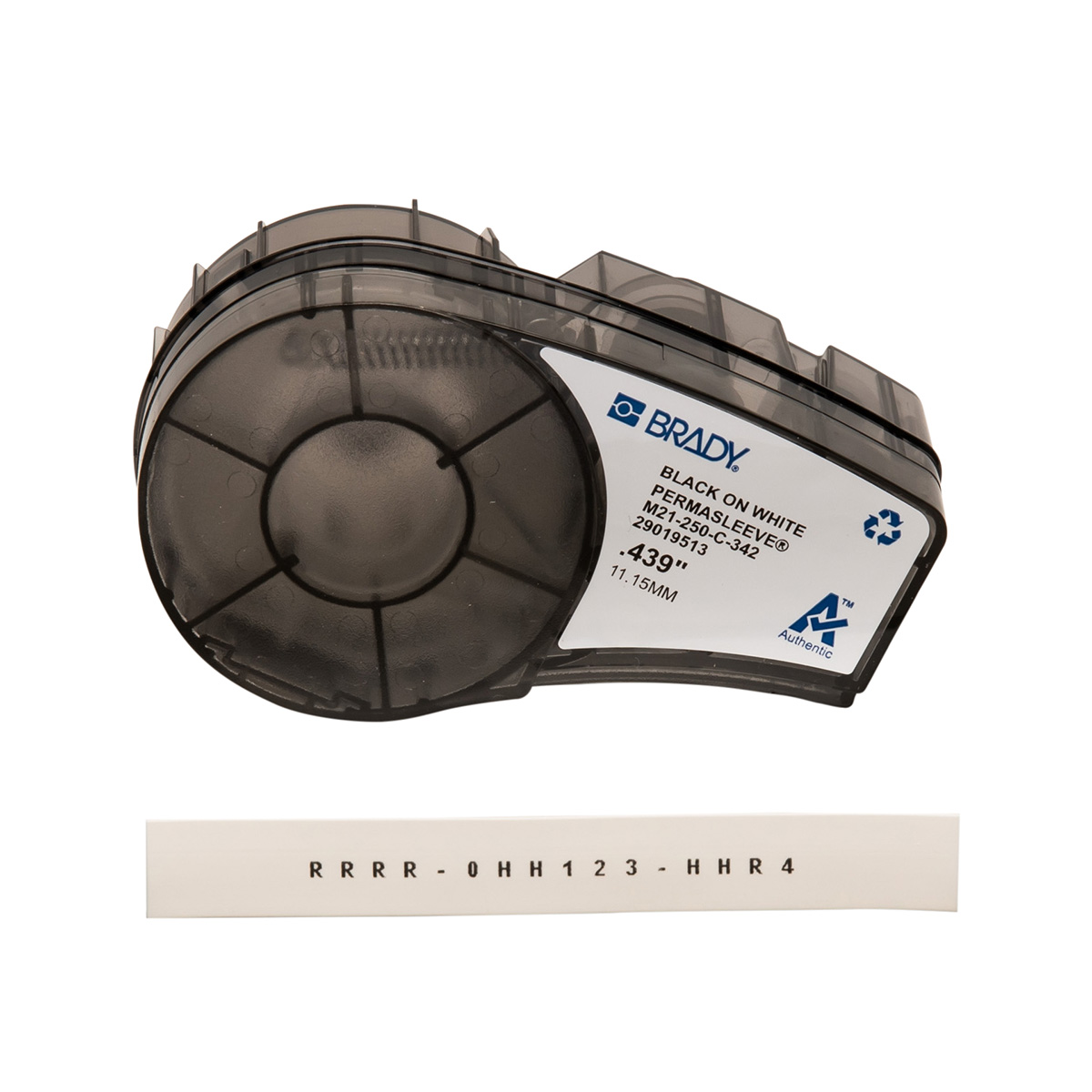 BRAM21-250-C-342 0.250 IN DIA X 7 FT (6.35 MM X 2.13 M), BRADY, M21-250-C-342