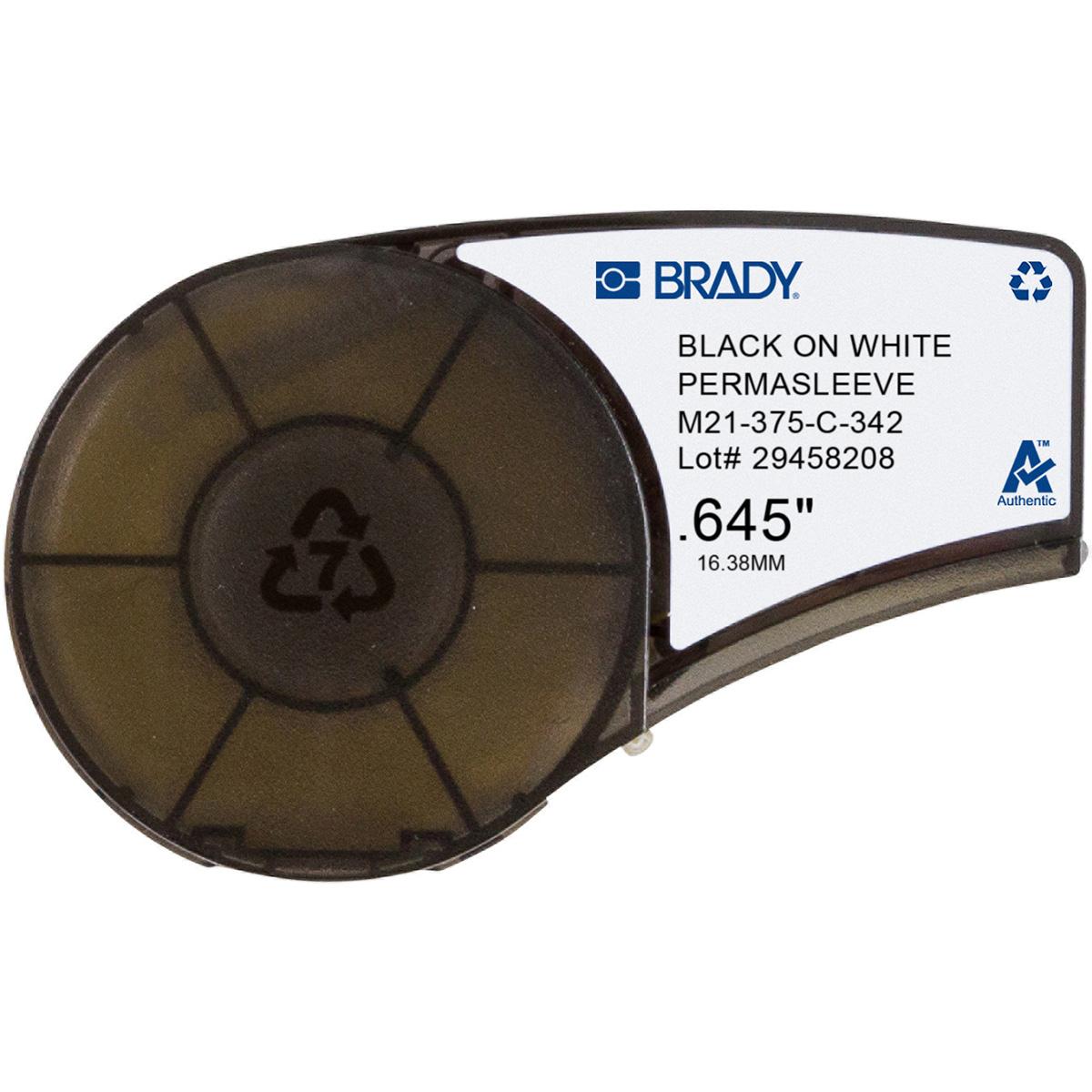 """BRADY M21-375-C-342 .375"""" x 7"""""""