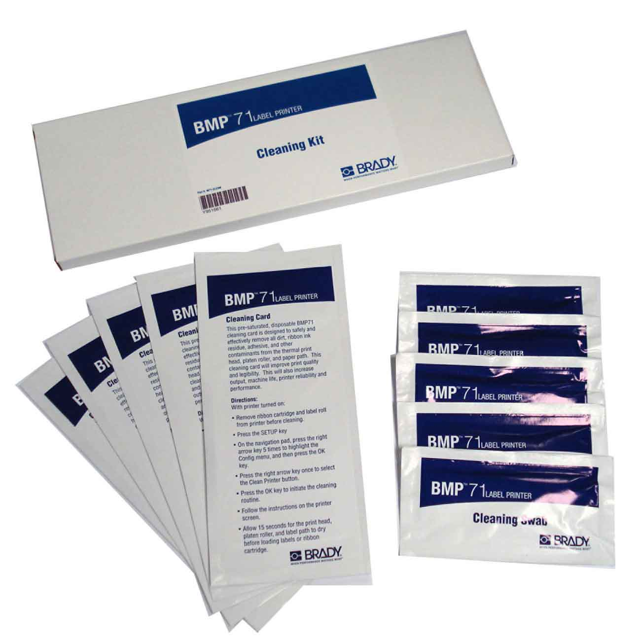 BRADY M71-CLEAN Cleaning Kit