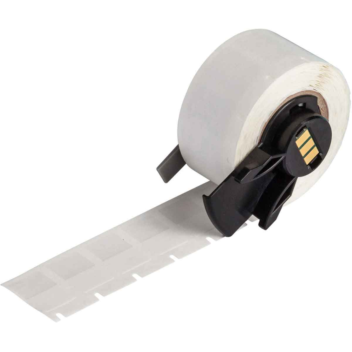 "Brady PTL-11-427 White Self-Laminating Vinyl Labels for TLS2200 / TLS-PC Link Printers, .50"" x .75"" label, 16-10ga wire"