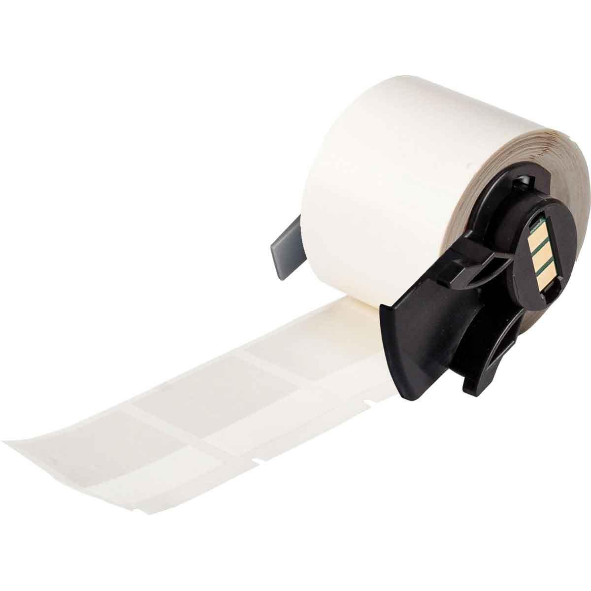 B-427 Self-Laminating Vinyl Brady PTL-32-427-RD TLS 2200 and TLS PC Link 1.5 Width x 1.5 Height Matte Finish Red//Translucent Label 250 per Roll