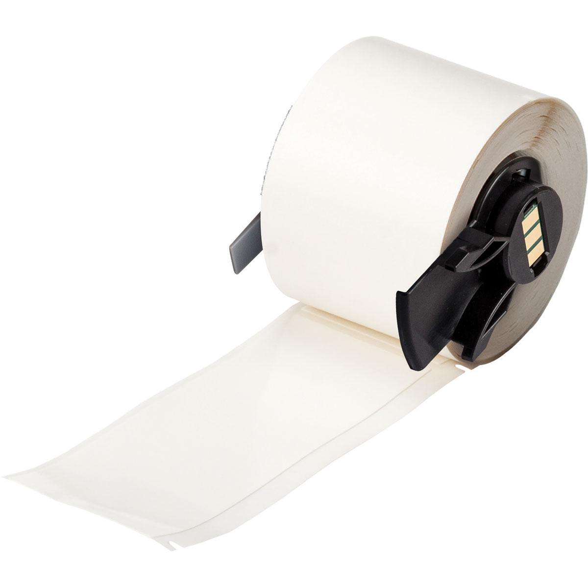 B-498 Repositionable Vinyl Cloth White Color Label 750 Per Roll 0.25 Width Brady PTL-28-498 TLS 2200 And TLS PC Link 1.5 Height