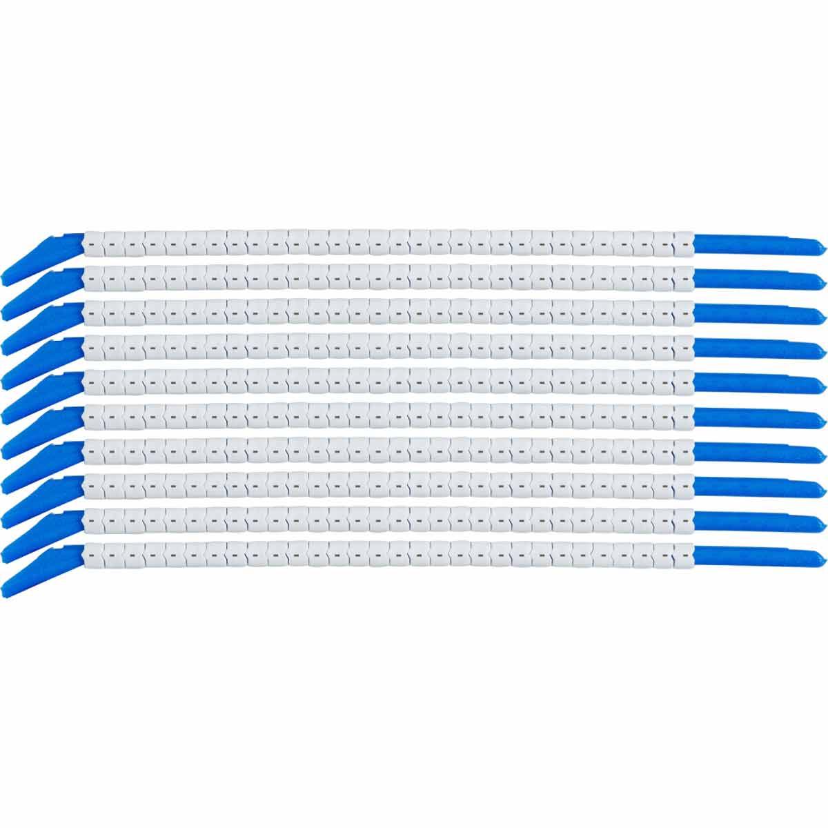 BRADY SCN13-MINUS Clip Sleeve &Wire Markers - Legend: -