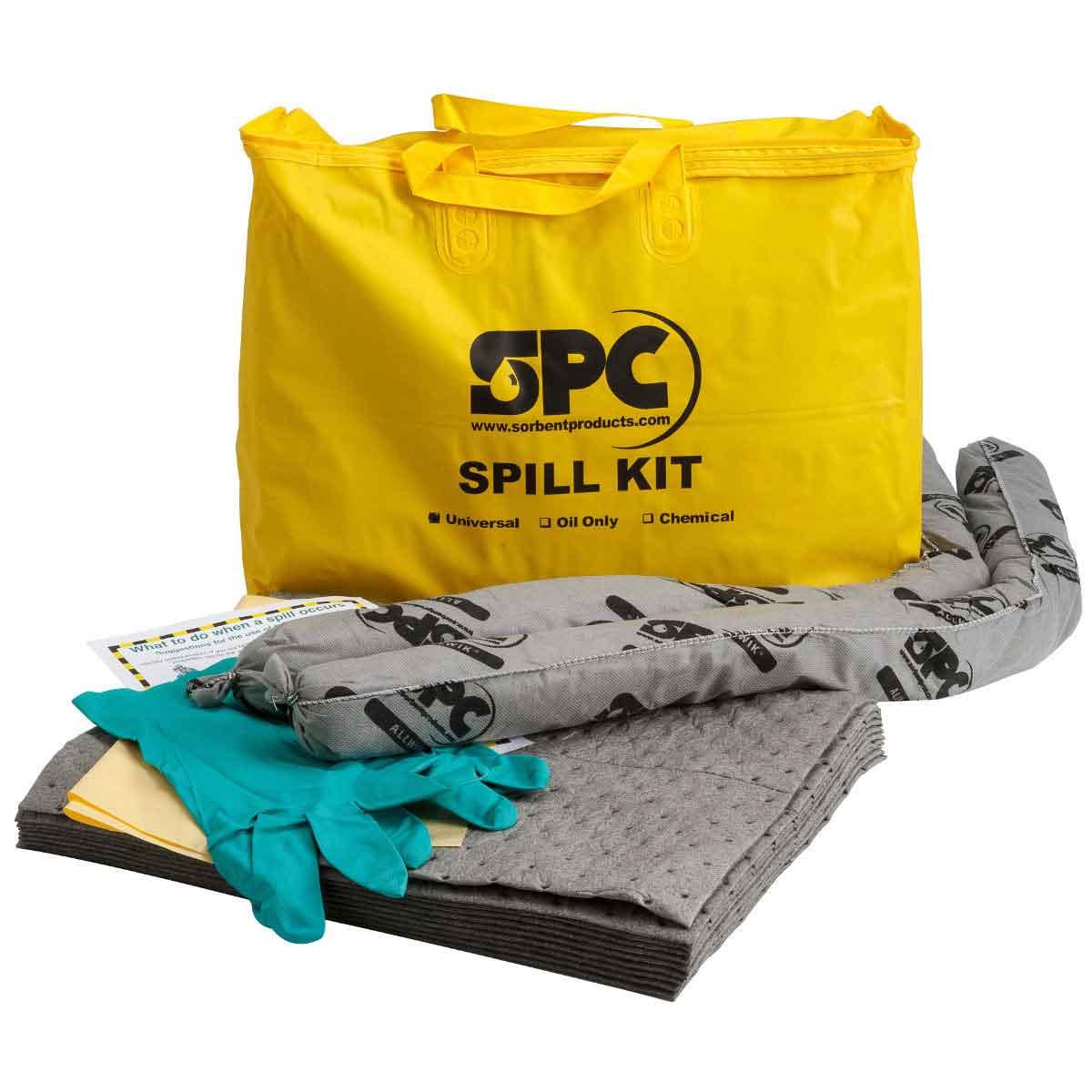 Brady SKA-PP Portable Economy Spill Kit - Universal Allwik