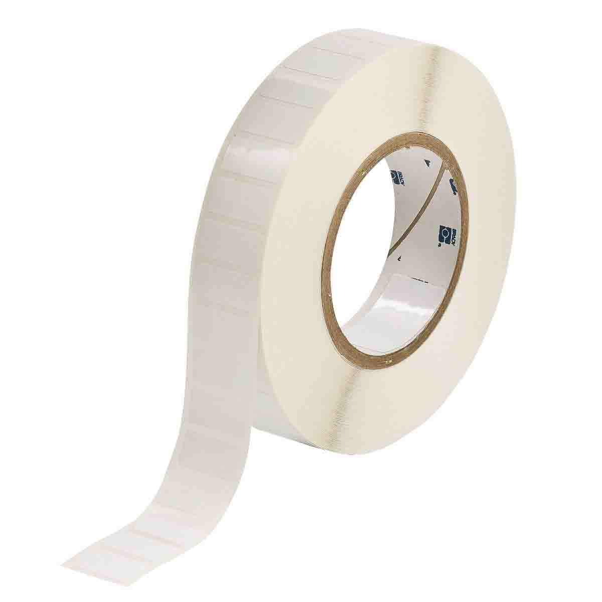 B-483 Ultra Aggressive Polyester Brady THT-55-483-1 4 Width x 2 Height 1000 per Roll Gloss Finish White Thermal Transfer Printable Label