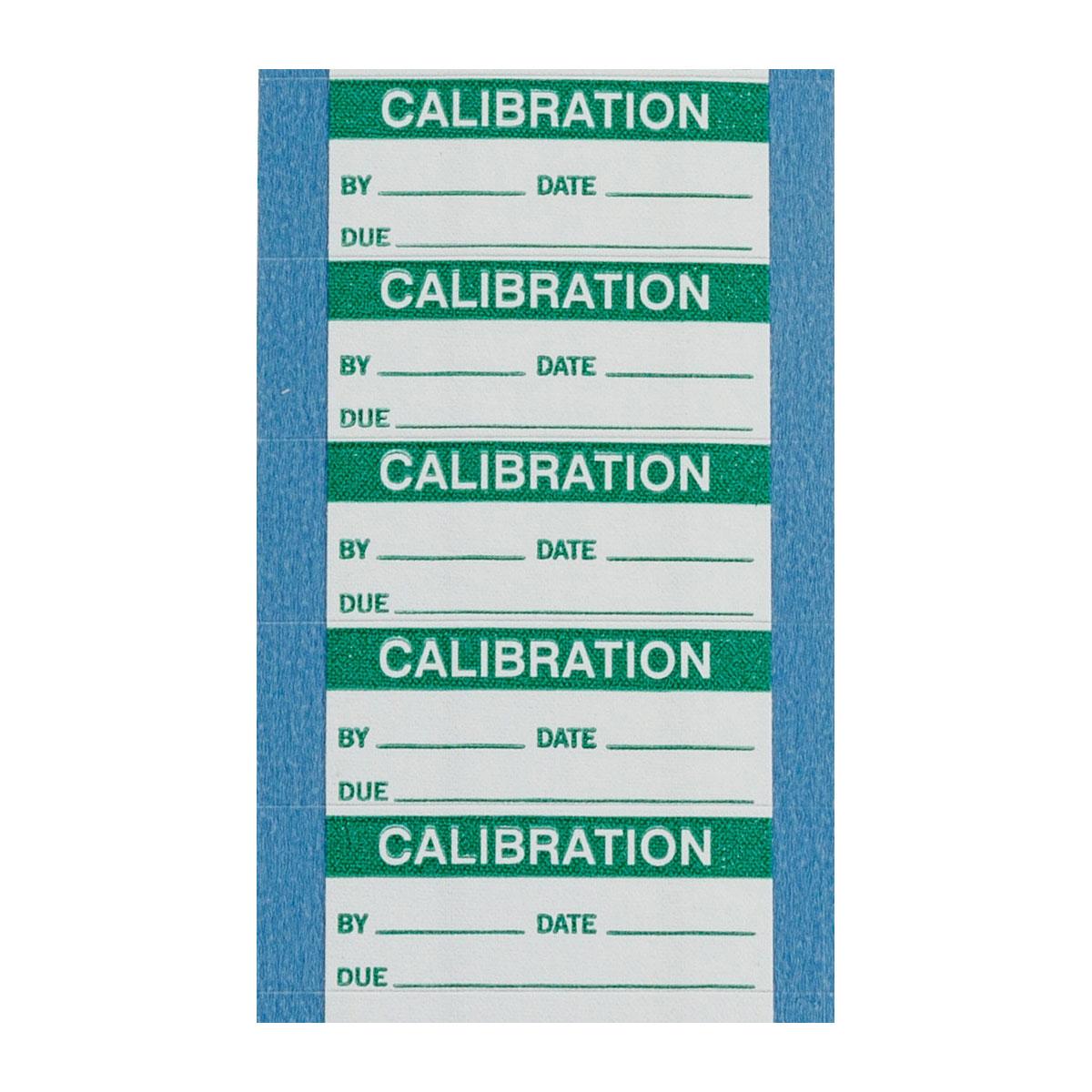 brady part wo 10 vp calibration labels. Black Bedroom Furniture Sets. Home Design Ideas