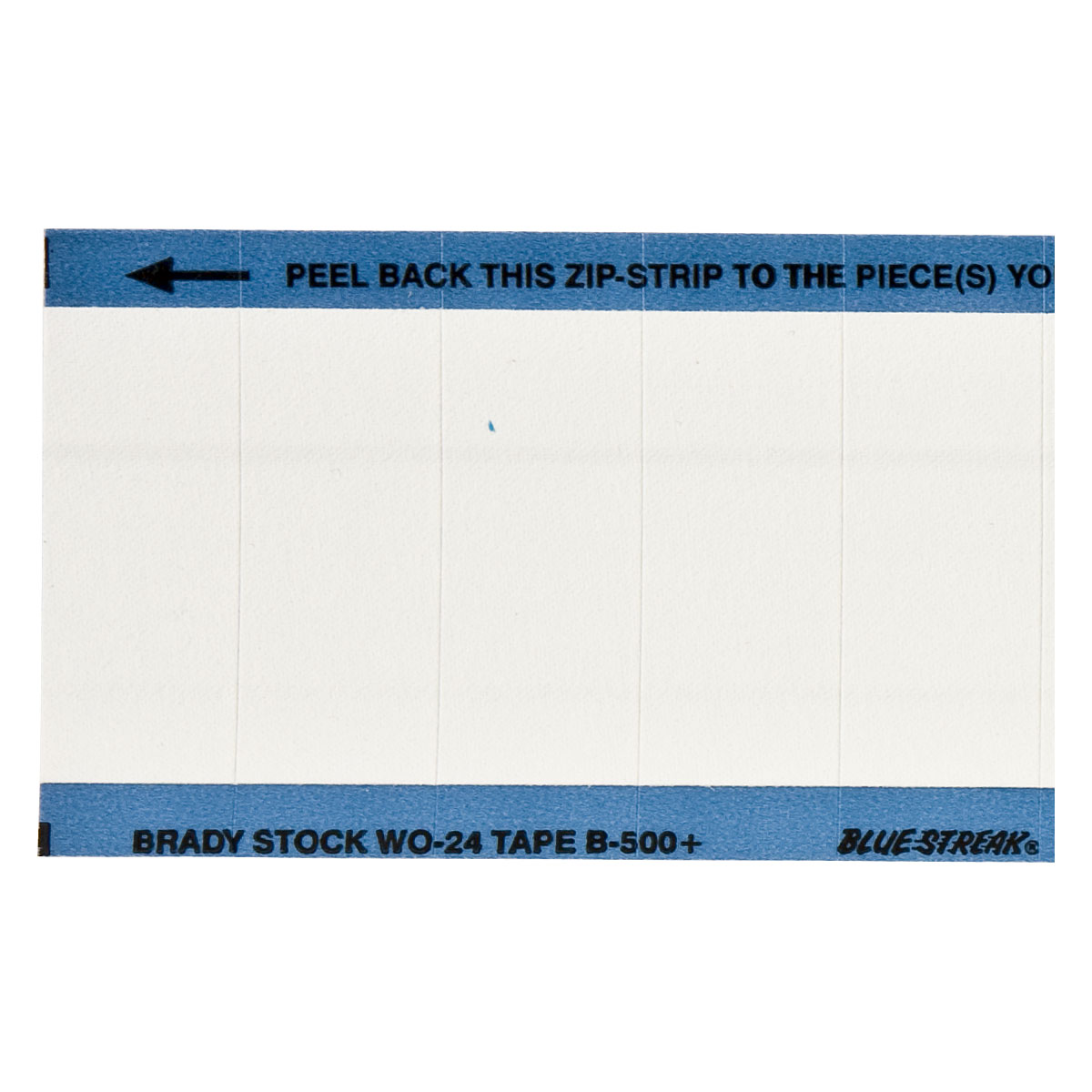brady label templates - brady part wo 24 blank write on calibration labels