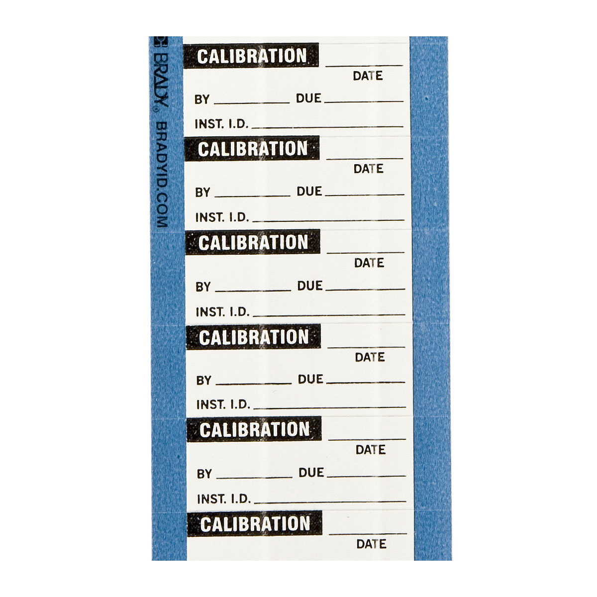 brady label templates - brady part wo 64 calibration labels