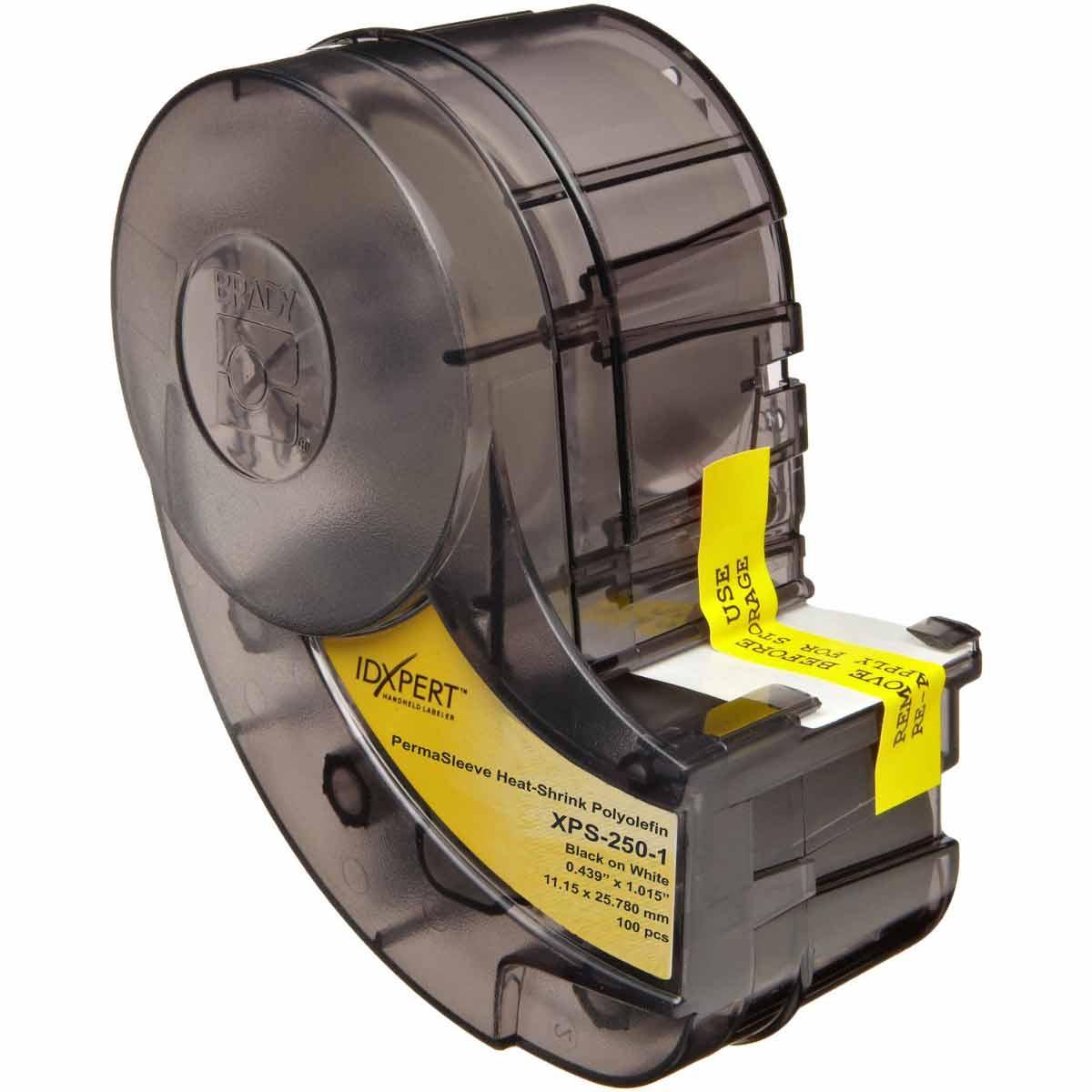BRAXPS-250-1 XPERT PERMASLEEVE WHT .250 IN DIA X 1 IN, BRADY, XPS-250-1