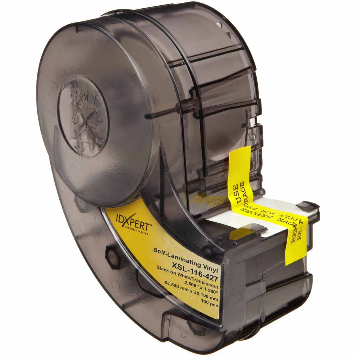 Brady Part Xsl 116 427 60345 Idxpert Series Self Laminating Home Bmp21 Hand Held Label Printer Electrical Kit Vinyl Wire And Cable Labels