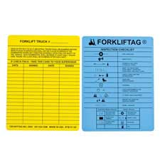 FORKLIFTAG® Inserts Blue/Yellow-104129