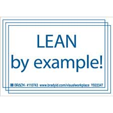 LEAD BY EXAMPLE! Labels