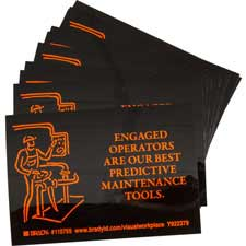 ENGAGED OPERATORS ARE OUR BEST PREDICTIVE MAINTENANCE TOOLS. Labels