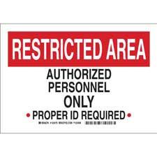 Admittance Sign-123475