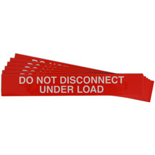 Pre-Printed SOLAR DO NOT DISCONNECT Warning Labels