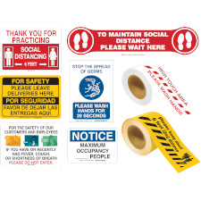 Business Reopening Signs Kit
