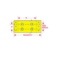 BradyTag® Dot Matrix Printable Tags-63120