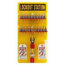 20-Lock Board (Filled with Brady 3/4