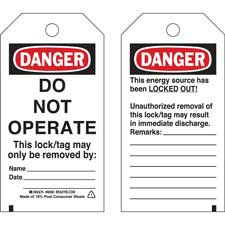 Lockout Tags-65502