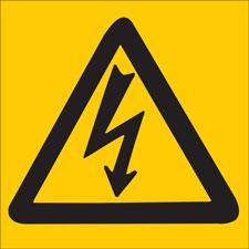 Electrical Hazard Sign-89153