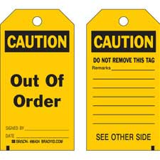 Accident Prevention Tags-86543
