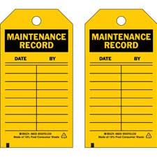 Inspection & Material Control Tags-86445
