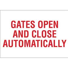 Gate Sign-95443