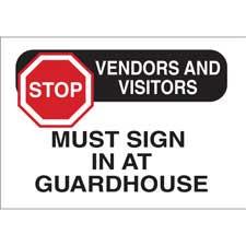 Gate Sign-95447