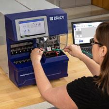 BradyPrinter A5500 Flag Printer Applicator