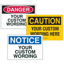 Design Custom Signs