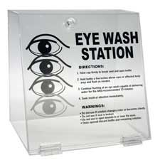 Clear Double Eyewash Station-45799