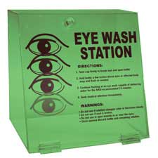 Double Bottle Eye Wash Station-45840