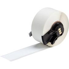 L,4 In BRADY M71-38-483-NOTI Tape,White,50 ft W